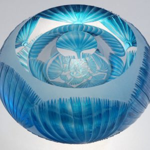 Katharine Coleman, Small Light Blue Haeckel Bowl, 2014 - Foto Katharine Coleman