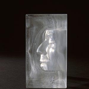 Bruno Romanelli, Gesichtsreliquie, 2002 - Foto Ron Zijlstra