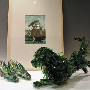 Marta Klonowska, Les Jeunes (nach de Goya), 2003 - Foto AHH